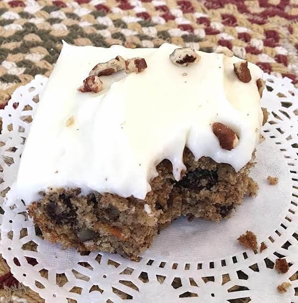 ~ Car-rai-ban-nut Spiced Delight Cake ~ Recipe