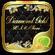 GO SMS DIAMOND GOLD THEME apk