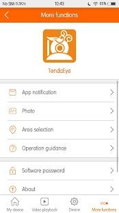 TendaEye - náhled