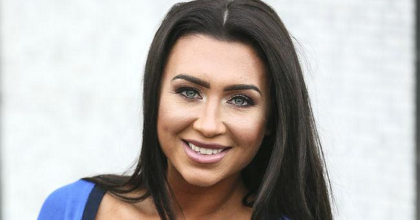 Lauren Goodger's whole face is 'swollen'