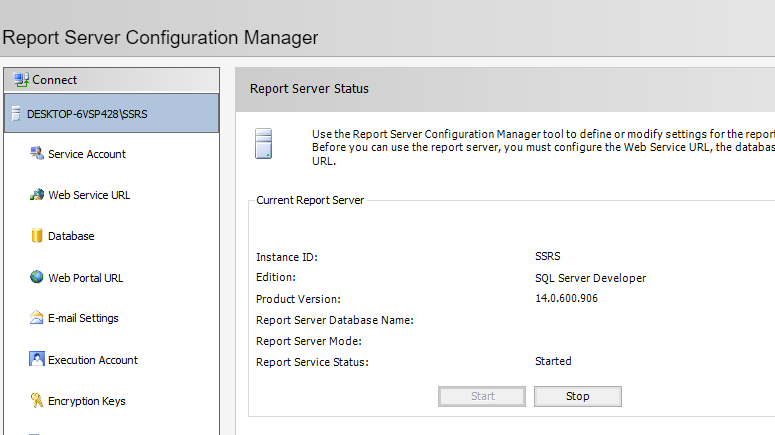 Patching SQL Server Reporting Services 2017 (Upgrade SSRS