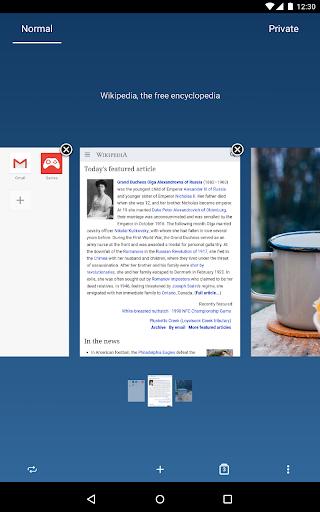 Opera browser - news & search screenshot 20