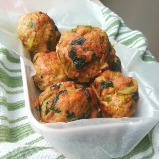 Baked Spinach Turkey Meatballs Recipe