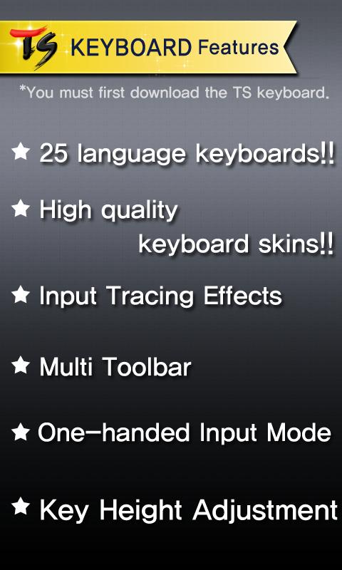 Скриншот Vietnamese for TS Keyboard