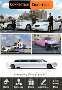 Connection Chauffeur Limo UAE - náhled