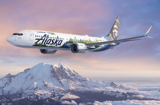 Alaska Airlines to join the Boeing ecoDemonstrator Program with a special 737-9 logo jet