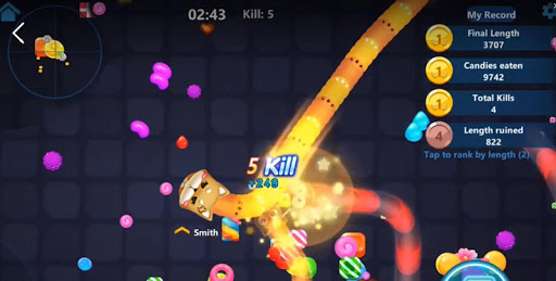 Snake Candy.IO - Real-time Multiplayer Snake Game 3925.3.6.9 screenshots 2