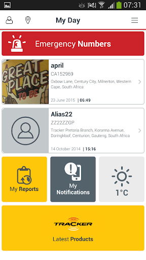 Tracker Connect