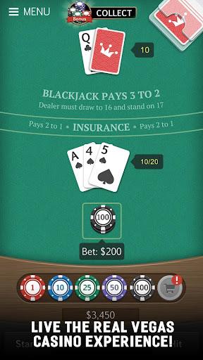 Blackjack 21 Jogatina: Casino Card Game For Free 1.5.1 Mod screenshots 1