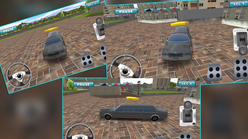 Скриншот Limousine Car Parking