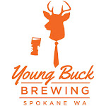 Logo for Young Buck Brewery