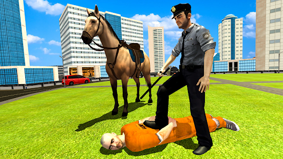 Police Horse Criminal Chase 3D Screenshot