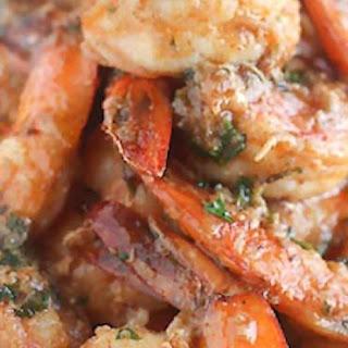 Spicy Cajun Buttery Shrimp.