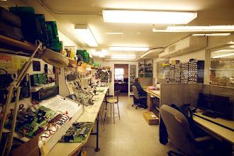 Photo: Electronics lab
