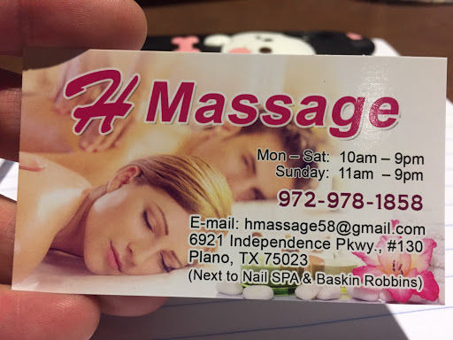 Asian massage plano remarkable