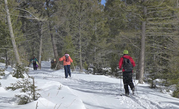 Photo: The trails are maintained/groomed by the Last Chance Nordic Skiing Club of Helena