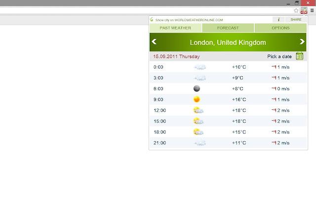 World weather online®