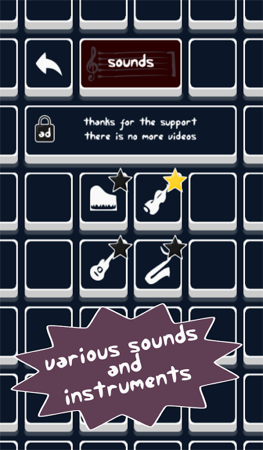 Sound Blocks- screenshot