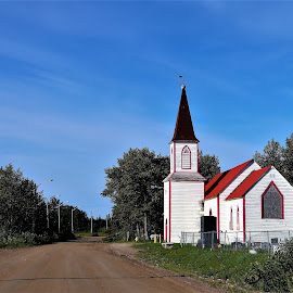 Abandoned Northern Church by Linda    L Tatler - Buildings & Architecture Places of Worship