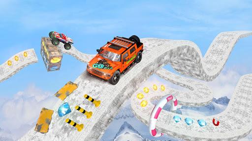 Offroad Jeep Driving Stunt 3D : Real Jeep Games  screenshots 12