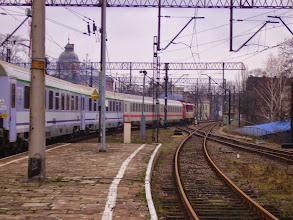 Photo: Legnica: SU46-011 z EC240 rusza do Hamburga