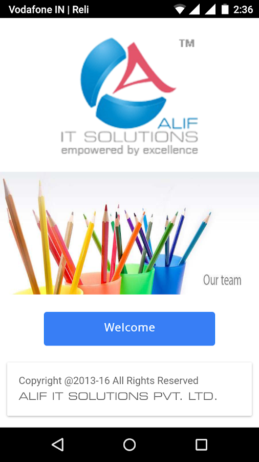ALIF IT SOLUTIONS- screenshot