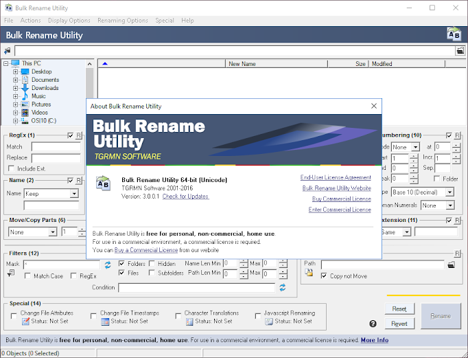 Buy Bulk Rename Utility!
