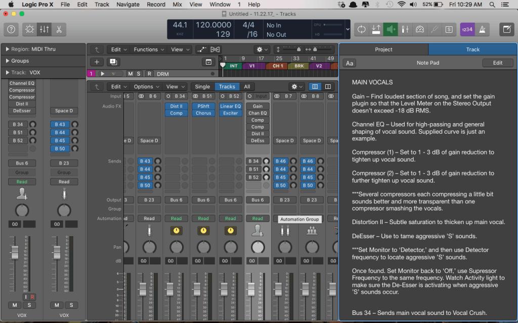 Why Logic Pro Rules Free Logic Pro X Mix Template