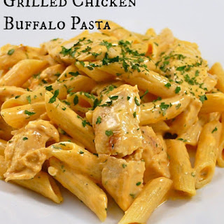 Grilled Chicken Buffalo Pasta Recipe
