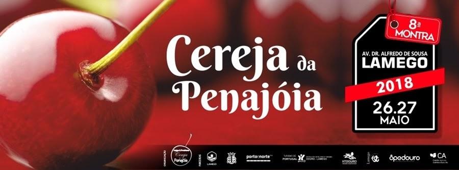 Montra da Cereja da Penajóia regressa a Lamego a 26 e 27 de maio