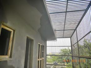 Photo: First Floor Chajja- rain water seeping through ? - Builder : Nanak Builders, Mr. Virender Batra, GNOIDA