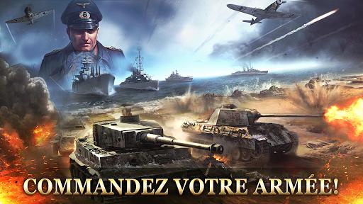 Code Triche WW2: Strategy Commander Conquer Frontline APK MOD screenshots 2