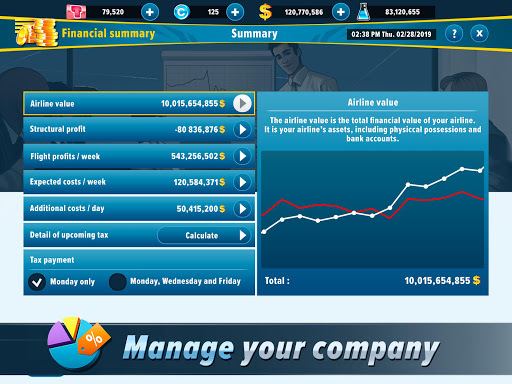 Airlines Manager - Tycoon 2020 3.03.0004 screenshots 17