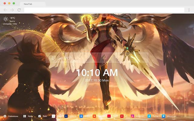 Justice Angel Kyle Popular HD Wallpaper Theme