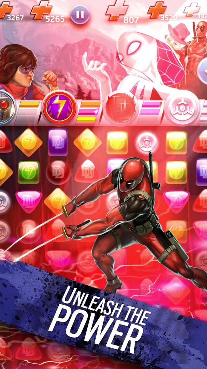 Marvel Puzzle Quest screenshot #5