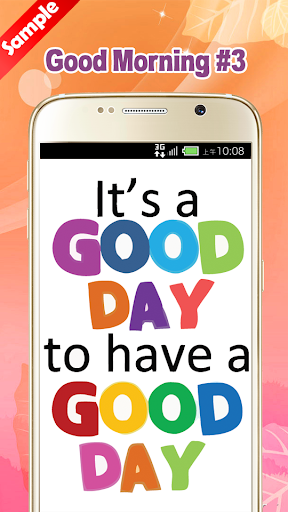 玩免費娛樂APP|下載Good Morning Images app不用錢|硬是要APP