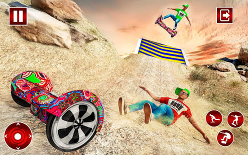 Off Road Hoverboard Stunts for PC-Windows 7,8,10 and Mac apk screenshot 4