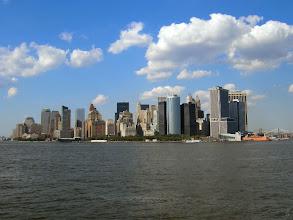 Photo: Sky line de N.Y. desde la Estatua de la libertad.