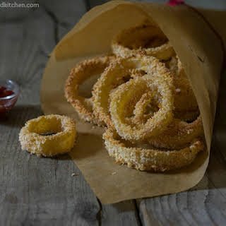 Fried Onion Rings Without Flour Recipes.