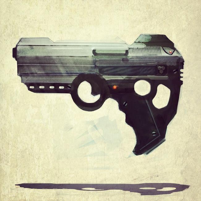 ShroomArts: pistol concepts