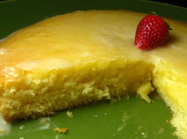 Easy Frosted Lemony Lemon Cake Recipe