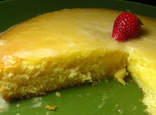 Easy Frosted Lemony Lemon Cake