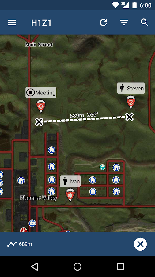 iZurvive - Map for H1Z1- screenshot