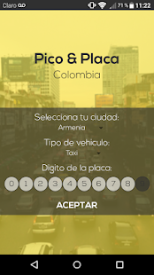 Pico y placa colombia - náhled