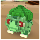 Pixelmon Cube world craft & build : exploration GO icon
