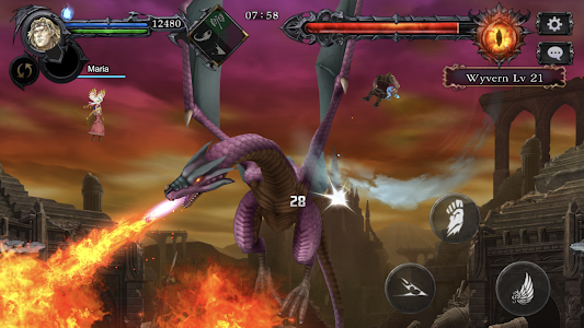 Castlevania Grimoire of Souls Screenshot Image