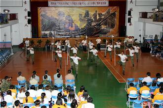 Photo: 國防部今年仍將依慣例舉辦全民國防走入校園活動。(軍聞社資料照片)