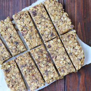 High Fiber Granola Bars Recipe