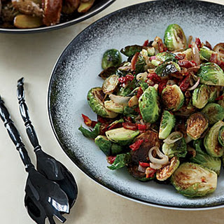 Caramelized Brussels Sprouts with Pancetta.