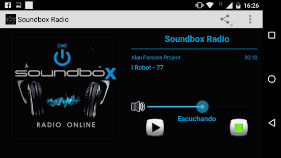 Soundbox Radio Online- screenshot thumbnail